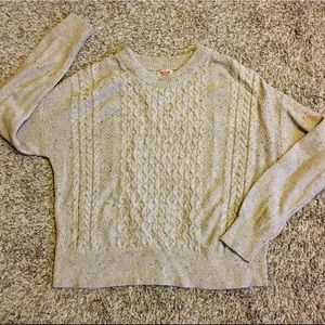 Mossimo cable knit winter sweater